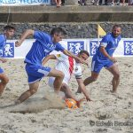 Strand evenement Beachsoccer Zeeland